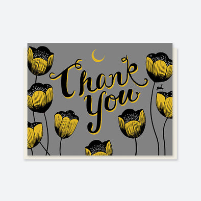 """Thank You"" Magic Tulips Card"