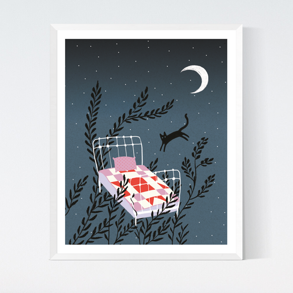 Midnight Dreams Art Print