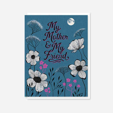 """My Mother My Friend"" Moon Card"