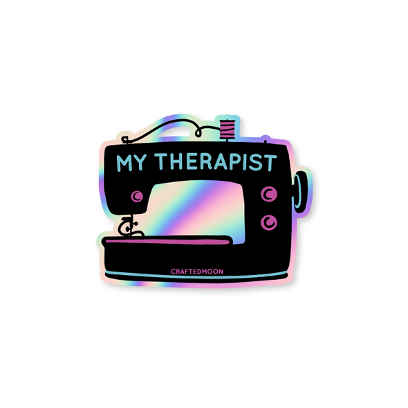 My Therapist Sticker