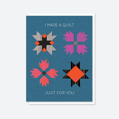 """I Made a Quilt..."" Quilter Card"