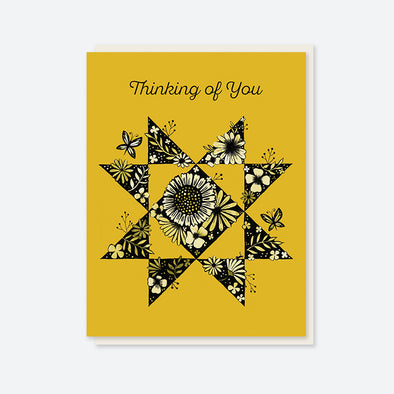 """Thinking of You"" Star Card"