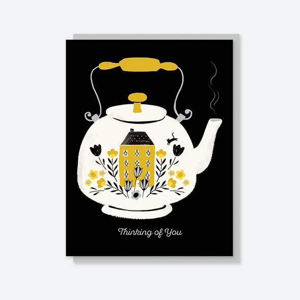 """Thinking of You"" Teapot Card"