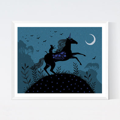 Unicorn Ride Art Print