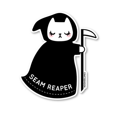 Seam Reaper Sticker Single