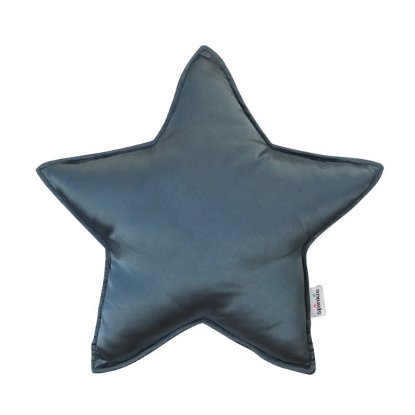 Star Pillow in TEAL
