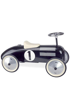 Vintage Metal Ride On Car by Vilac