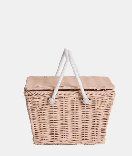 Piki Basket in in Rose by Olliella