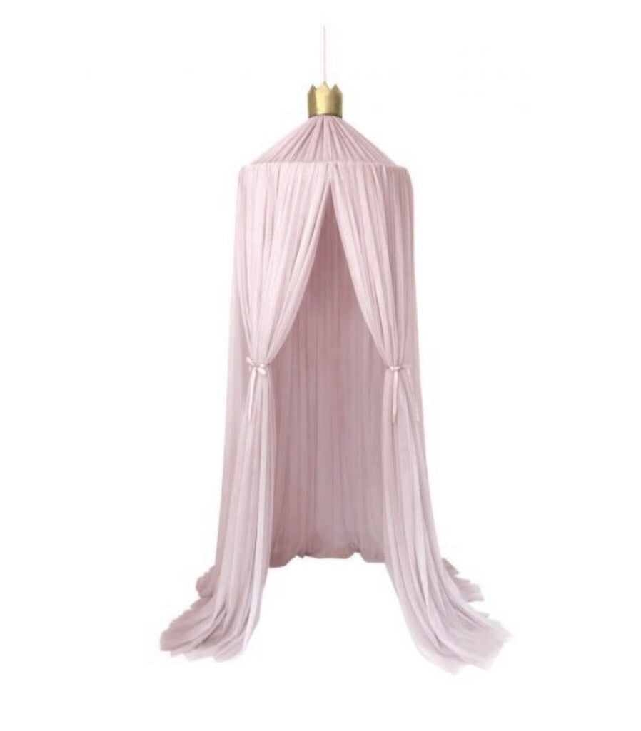 Dreamy Canopy in Pale Rose by Spinkie Baby