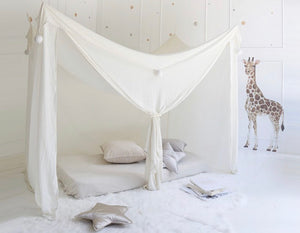 Dreamy Fort in Baby's Breath by Spinkie Baby.