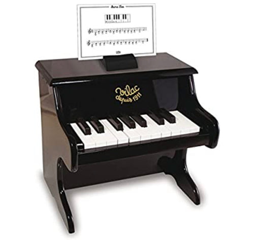 Piano with scores in BLACK by Vilac