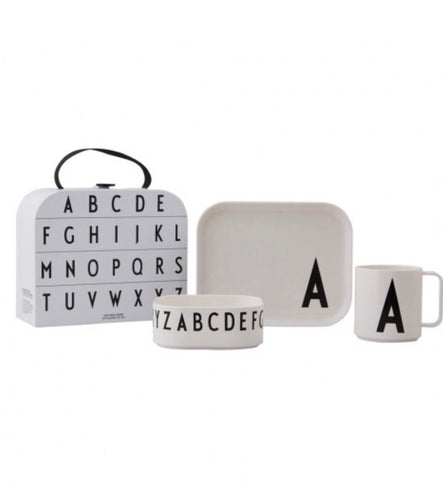 CLASSICS IN A SUITCASE - KIDS GIFT BOX A-Z by DESIGN LETTERS