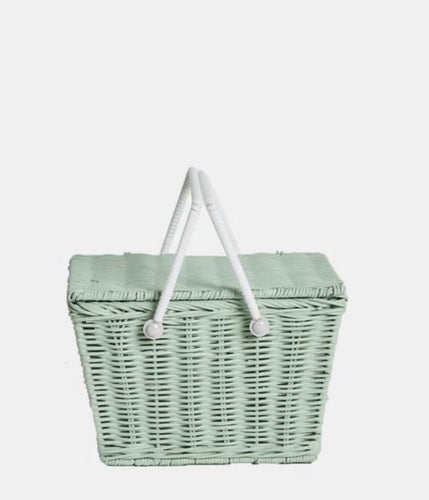 Piki Basket in MINT by Olliella
