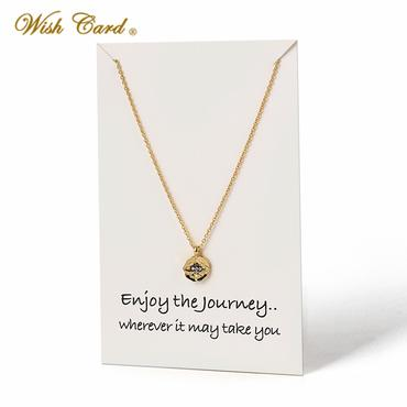 Wanderlust Necklace - Enjoy the Journey