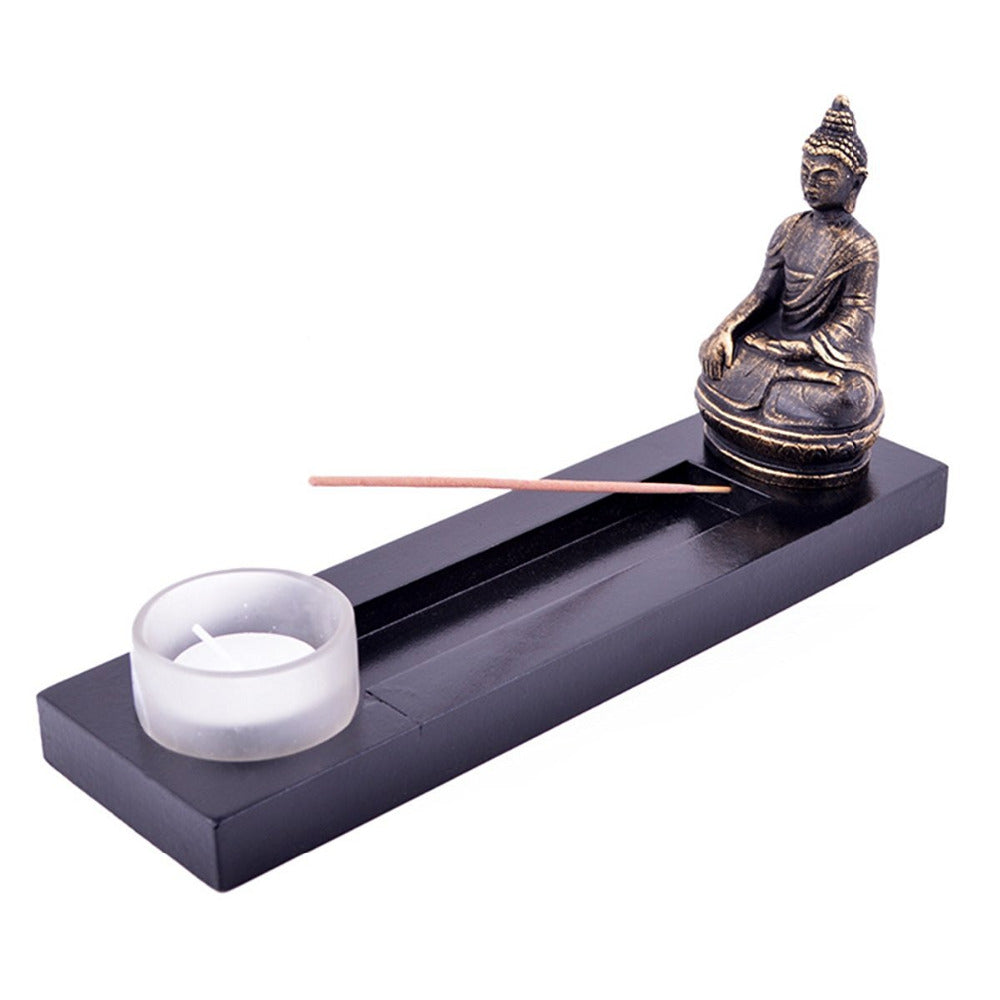 Buddha Tealight Incense Base