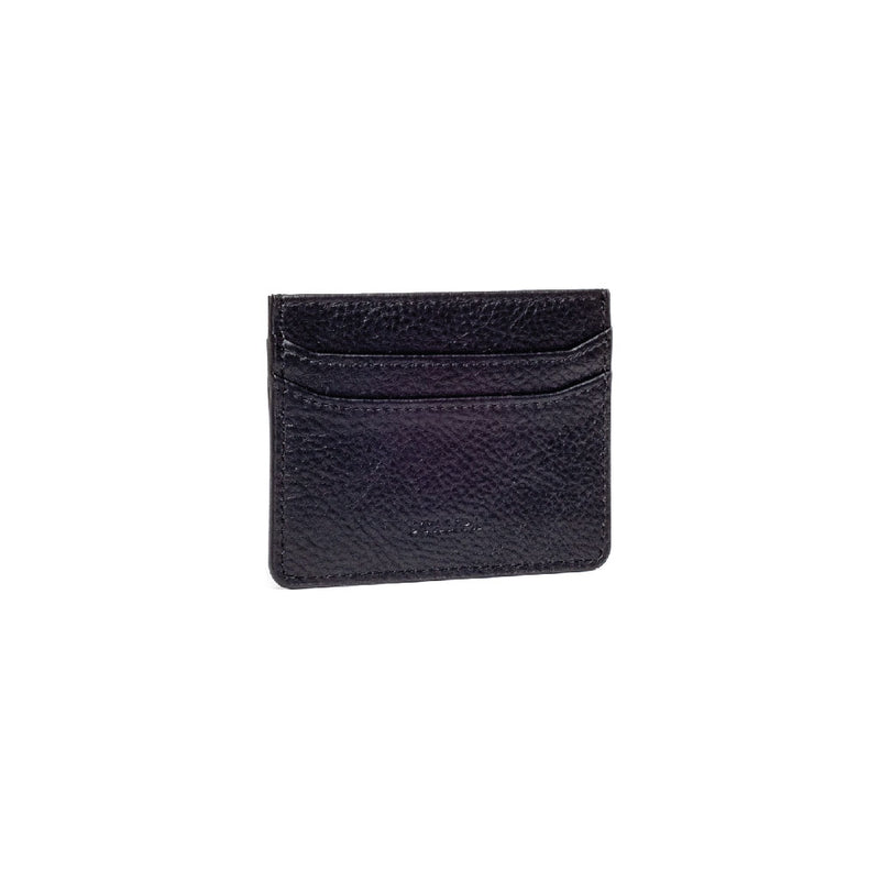 Black Card Holder - s-t-a-m-p-a