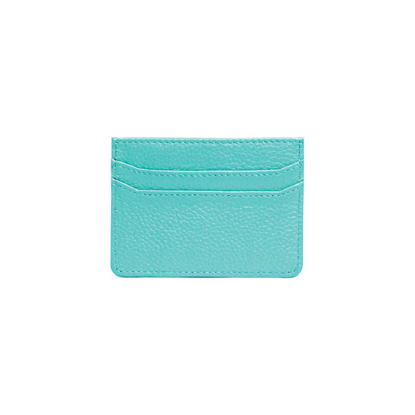 Teal Card Holder - s-t-a-m-p-a