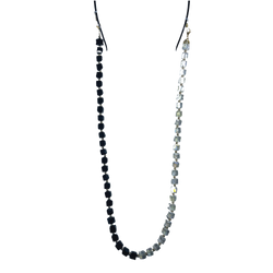 BLACK AND CLEAR CHAIN