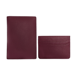 Wine Passport Holder + Card Holder Set