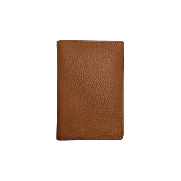 Cognac Passport Holder