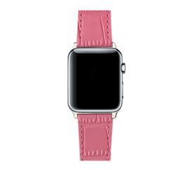 APPLE WATCH BAND HOT PINK CROC