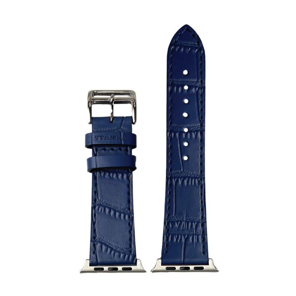 APPLE WATCH BAND NAVY CROC