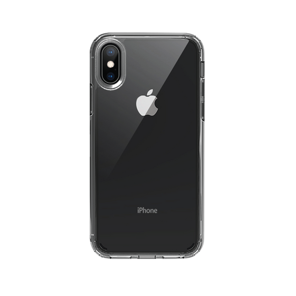 iPhone XS Max Transparente + Shadow Text