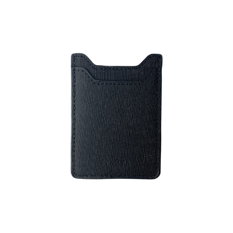 Black Phone Card Holder