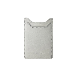 Pearl Gray Phone Card Holder