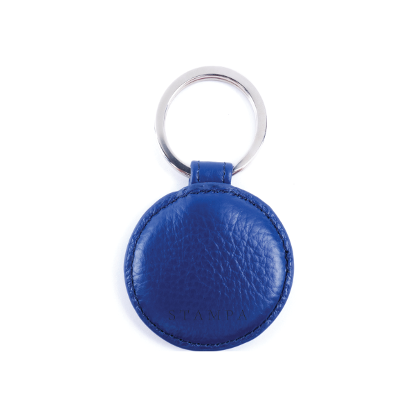 Lapis Blue Key Ring - s-t-a-m-p-a