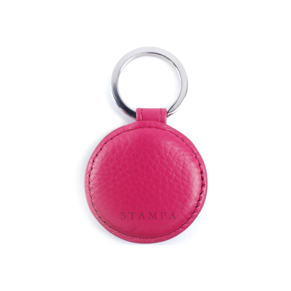 Magenta Key Ring - s-t-a-m-p-a