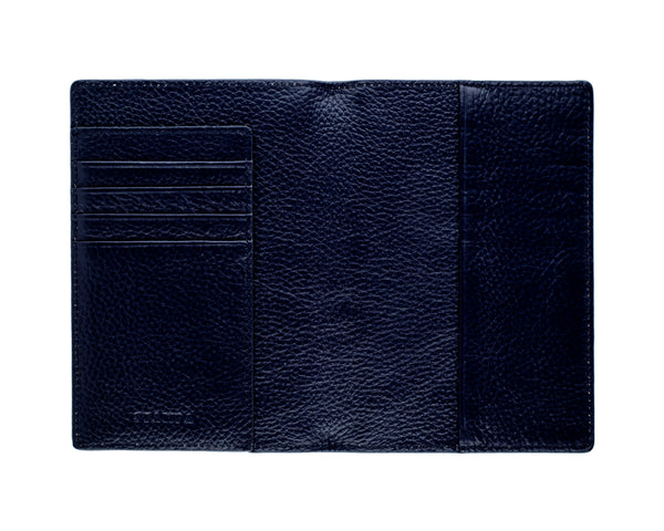 Navy Passport Holder - s-t-a-m-p-a