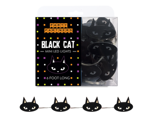 Cat Faces Mini Led lights Garland