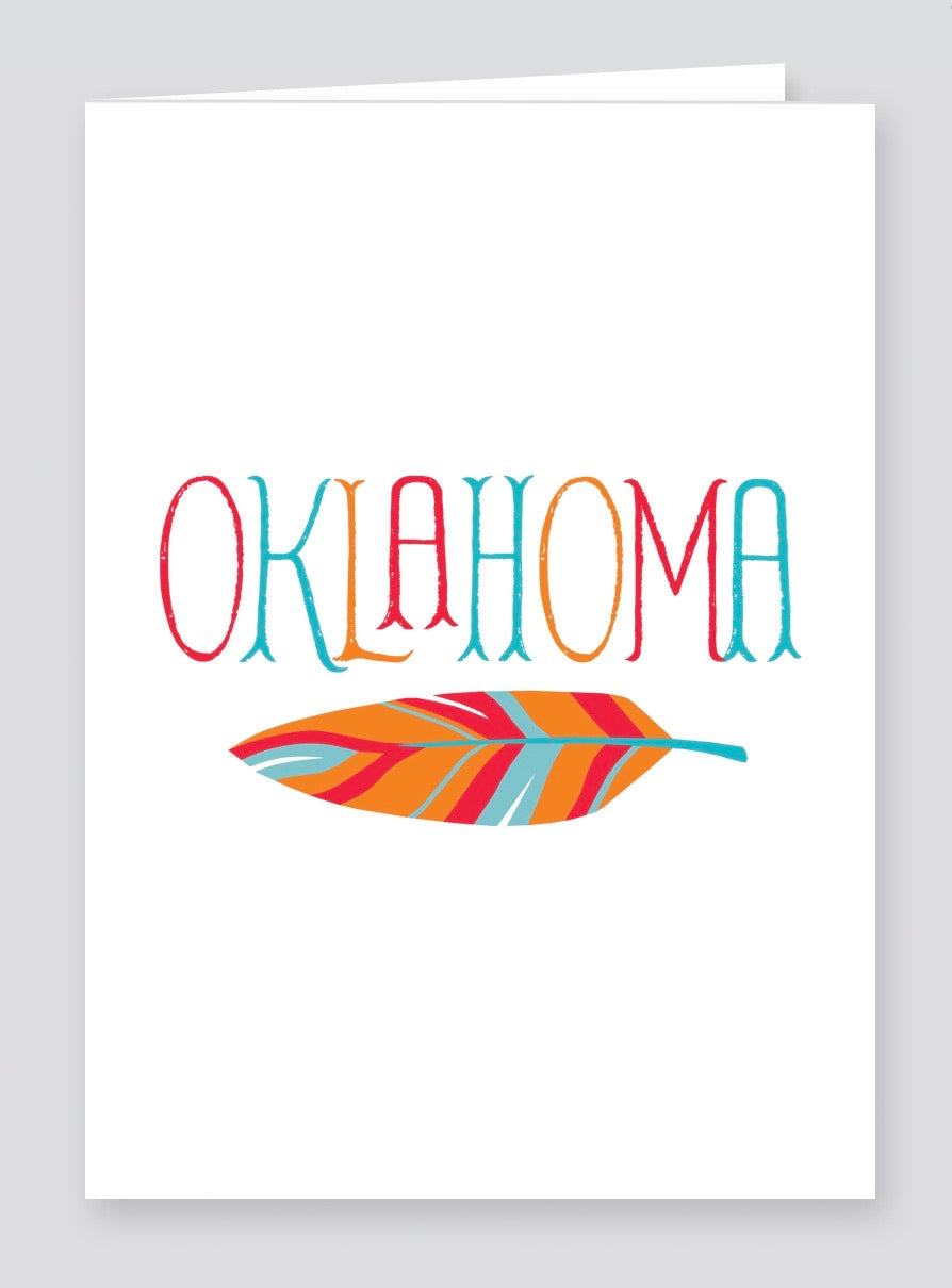 Oklahoma Greeting Card