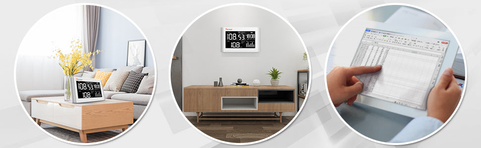 air quality monitor that can measure PM 2.5 can fit anywhere in the house