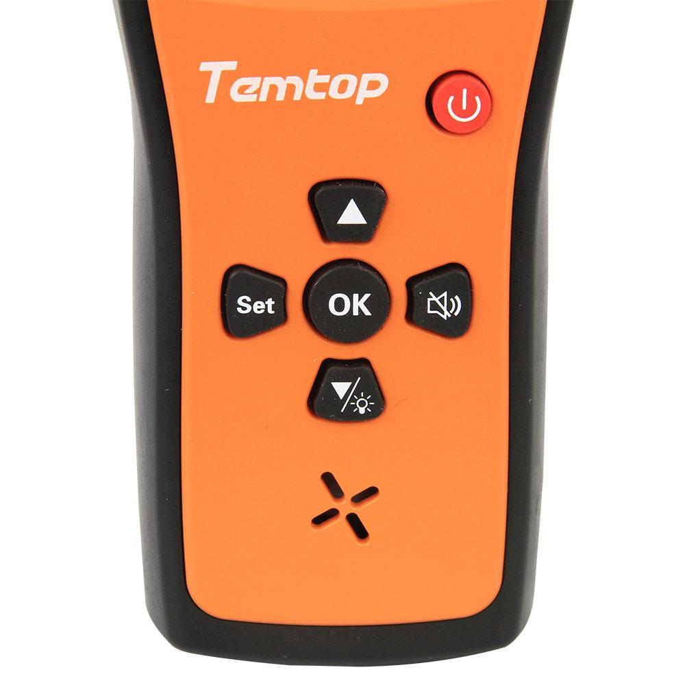 Temtop H2 Air Quality Detector Professional Formaldehyde/TVOC Monitor - Temtop US