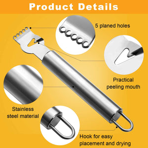 Stainless Steel Zester