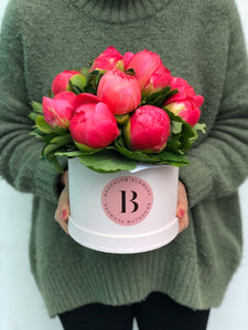 Peony Brooklyn Box, Peonies, Brooklyn Box, Flower Box, Brooklyn Flowers, Auckland Florist