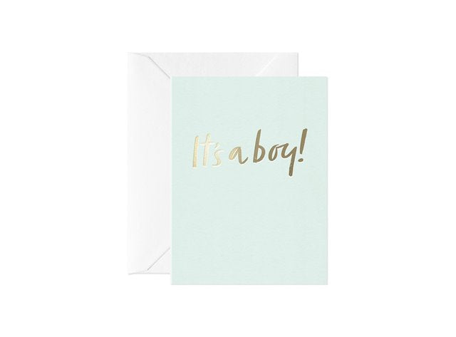 It's a boy! Gift card