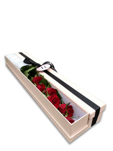 Multi stem rose box