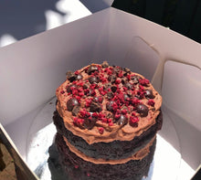 Load image into Gallery viewer, Mini Chocolate & Raspberry Cake Must Pre-Order