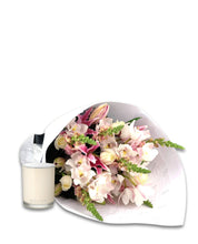 Load image into Gallery viewer, Bouquet & Ecoya Candle Gift Package - Brooklyn Flowers