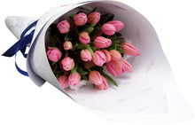 Load image into Gallery viewer, Pink Tulip Bouquet - Brooklyn Flowers