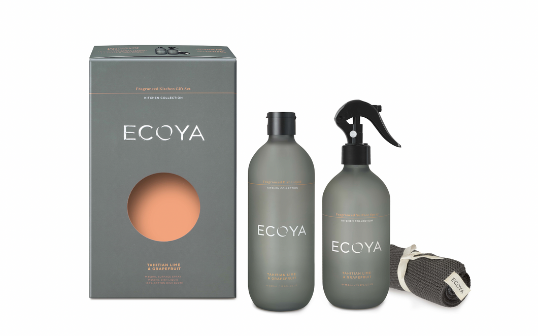 Ecoya Fragranced Kitchen Gift Set