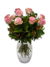 Load image into Gallery viewer, Pink Rose Bouquet - Brooklyn Flowers