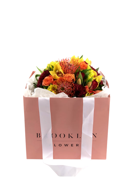 Cheerful Posy Bag - Brooklyn Flowers
