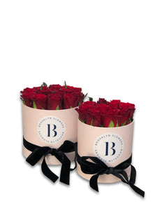 The Brooklyn Rose Box (Red) - Brooklyn Flowers