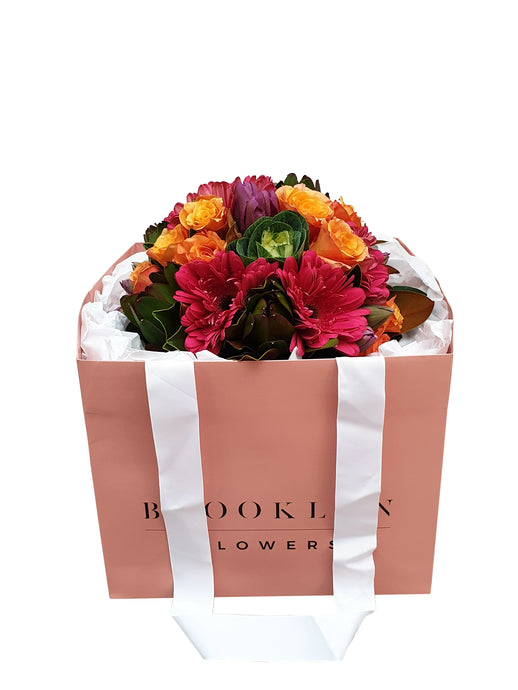 Fiesta Posy Bag - Brooklyn Flowers