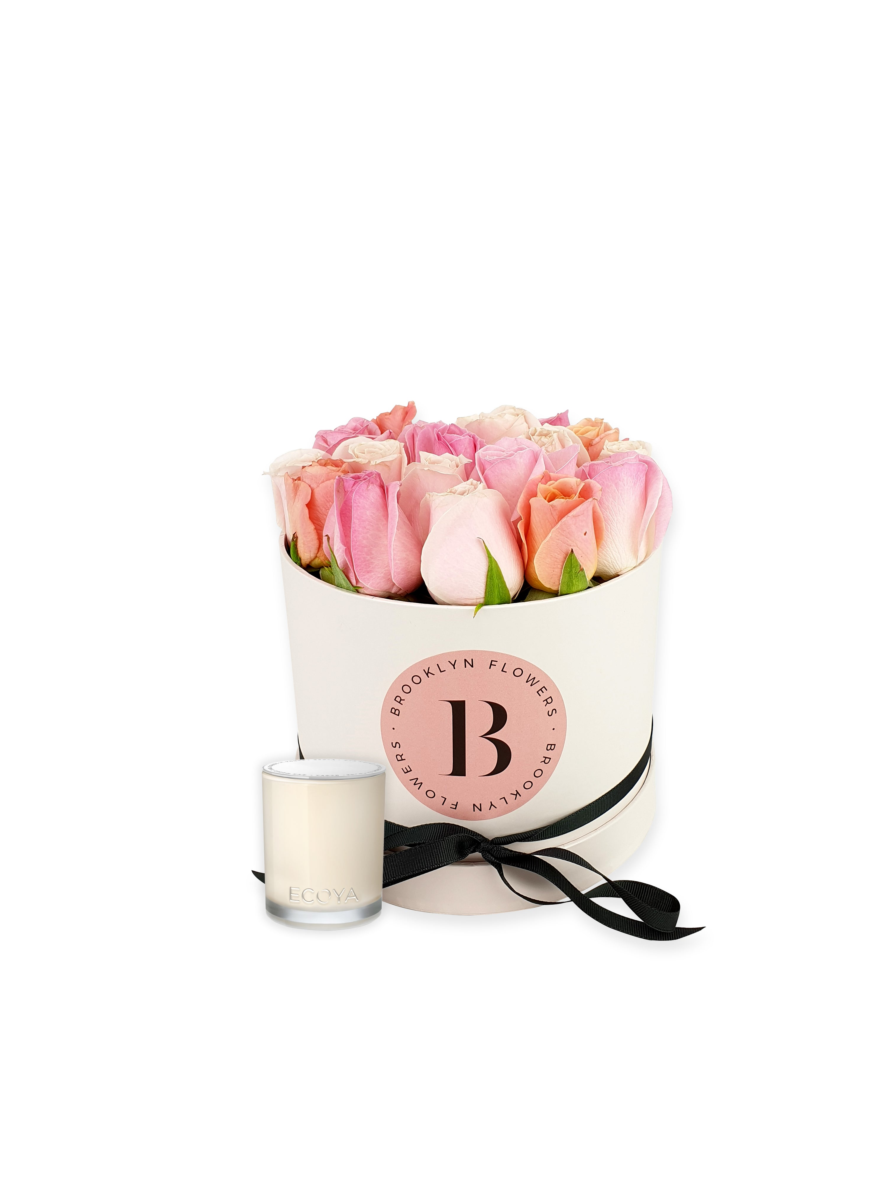 The Brooklyn Rose Box & Candle Gift Package