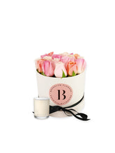 Load image into Gallery viewer, The Brooklyn Rose Box & Candle Gift Package - Brooklyn Flowers
